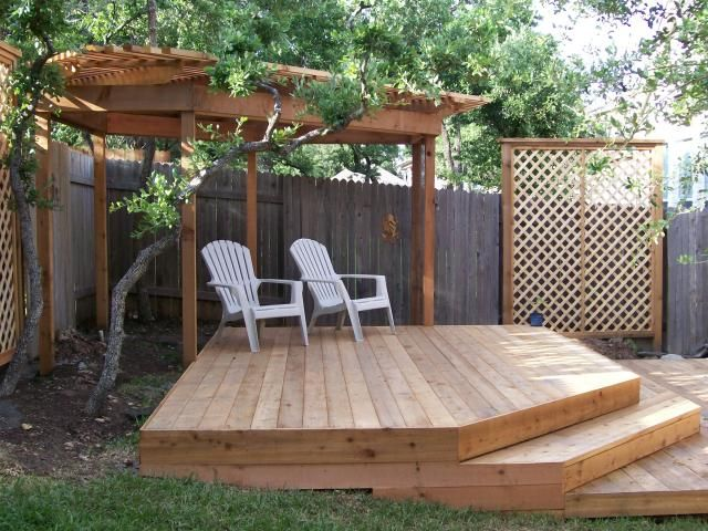 Pin By Amy Otero On Manifesting 2013 Corner Deck Backyard Deck
