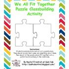 Every student is a piece in your classroom puzzle. Use this template for each student to decorate and cut out a puzzle piece. Glue the pieces toget...