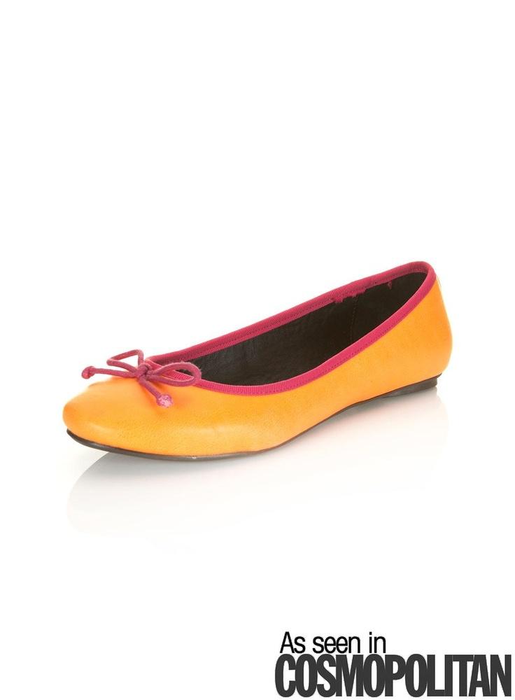 Dancer Neon Orange Ballet by Miss Selfridge