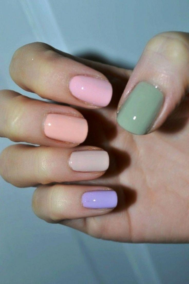 Pastel Nail Designs Ideas