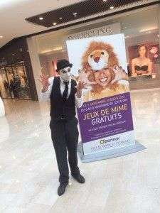 Inauguration du centre commercial o'parinor avec Talent Prod