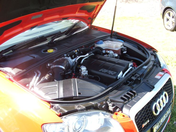 APR supercharged RS4 Cabrio