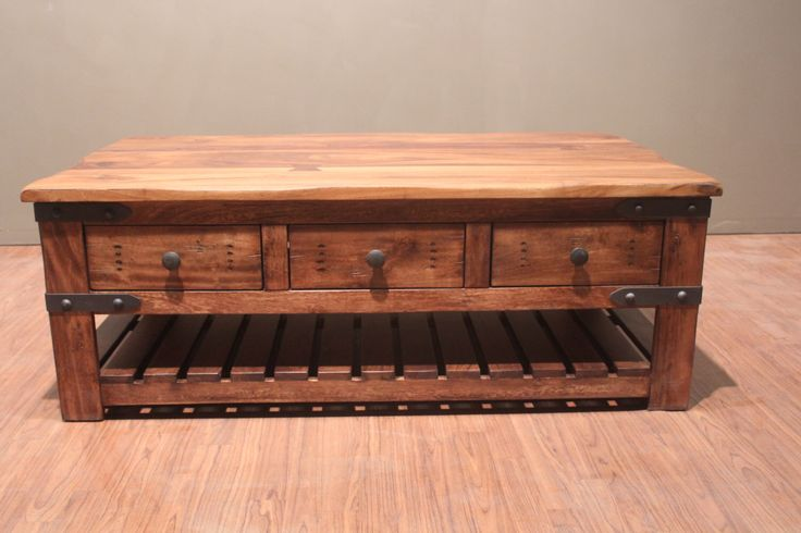 Best 25+ Solid wood coffee table ideas only on Pinterest ...