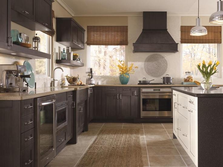 Dorable Dark Shaker Kitchen Cabinets Crest - Home Design Ideas and . & Beautiful Dark Shaker Kitchen Cabinets Mold - Home Design Ideas and ...