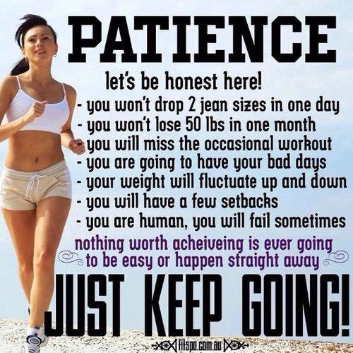 Just keep training! :)):