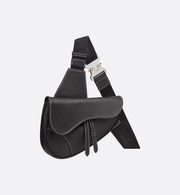 c2555dfbb saddle bag in black | Dior | Wishlist in 2019 | Dior saddle bag ...