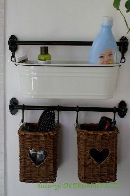Bathroom storage very cute