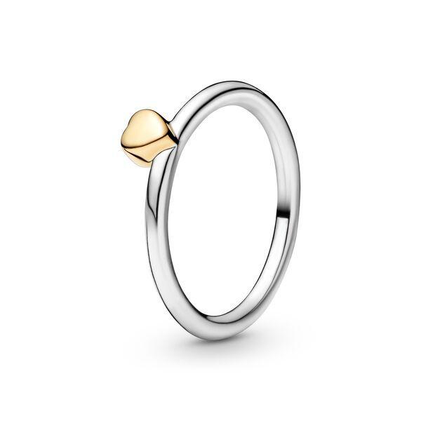 anello pandora con cuore