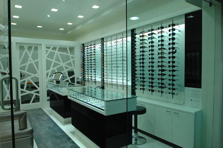 Optic store by studio designs vadodara india