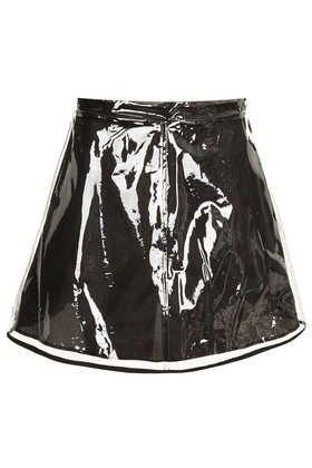 Clear Plastic Skirt
