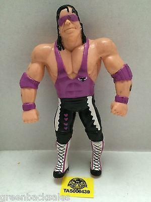 "(TAS006439) - WWE WWF WCW nWo Wrestling Bend-Ems Figure - Bret ""Hitman"" Hart"