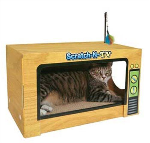 Ware ManufaCounturing CWM12004 Scratch-N-Tv Scratcher Hideout. Shopswell   Shopping smarter together.™