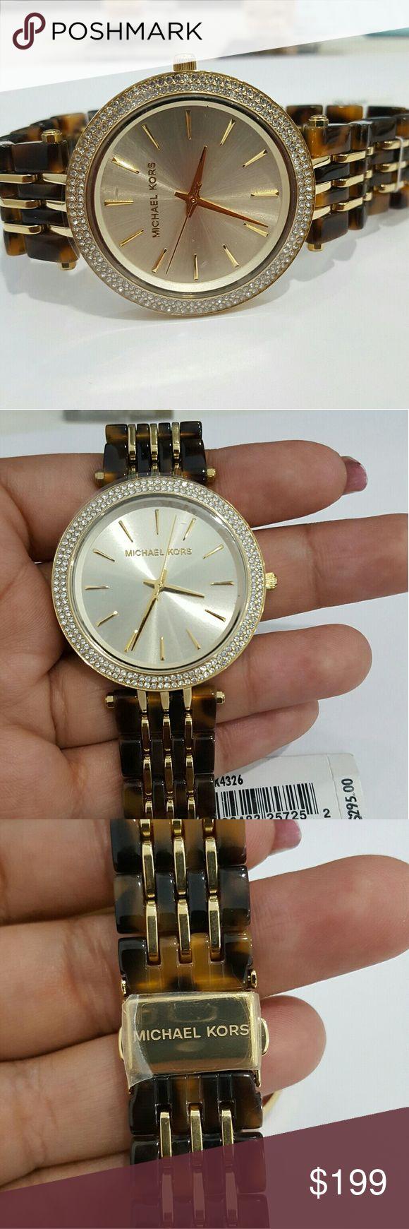 New Michael Kors mk4326 ladies watch Gold tone mk4326 Michael kors watch new with tags and warrenty. Michael Kors Accessories Watches