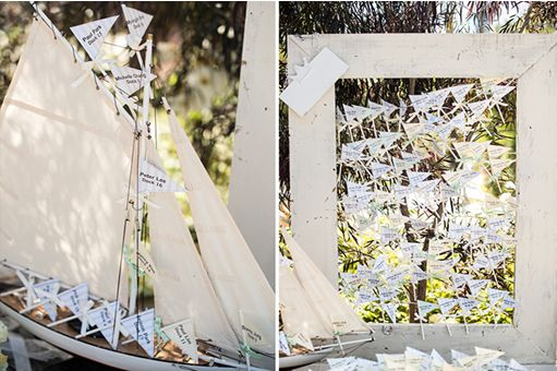 Love Boat Wishes: Δώστε την δυνατότητα στους καλεσμένους σας να γράψουν τις ευχές τους σε μικρά χάρτινα σημαιάκια ή καραβάκια τα οποία στη συνέχεια θα τοποθετήσουν πάνω σε ένα όμορφο διακοσμητικό καράβι μινιατούρα.