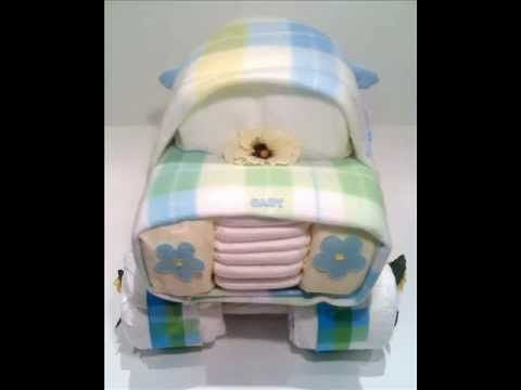 1000 Images About Diaper Crafts On Pinterest Diaper