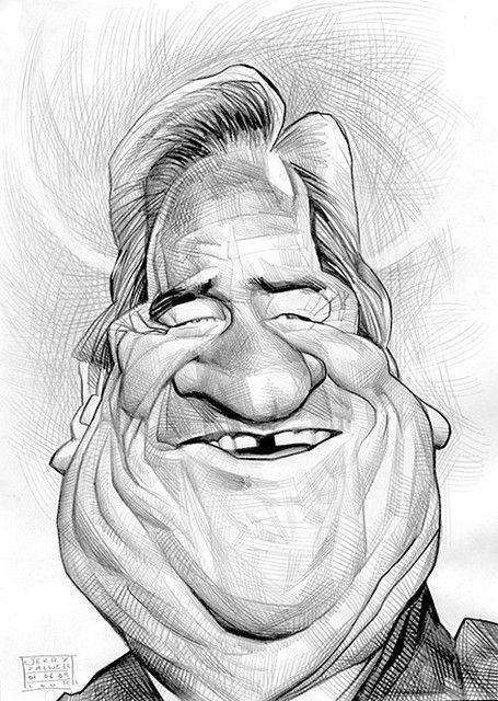 Cartoon: The Rev. Jerry Falwell by Russ Cook