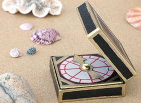 Captain's Compass for Pirates of the Caribbean date night ~points to your hearts desire ;)