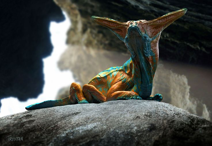 Alien Fauna by Tristan Schane | Creatures | 2D | CGSociety
