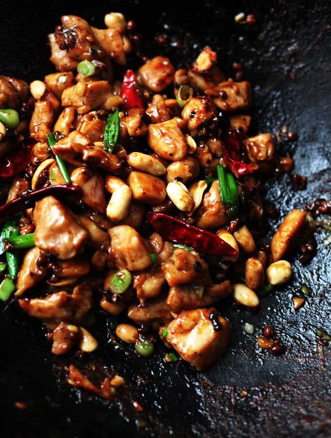 Kung Pao Chicken Recipe--Why not make this Chinese restaurant staple at home? You'll feel a lot less guilty about eating it!: Chicken Recipes, Easy Kung, Chinese Dishes, Lemon Chicken, Kung Pao Chicken Recipe, Homes Kitchens, Chinese Food Recipe, Sweet Life, Recipe Chicken