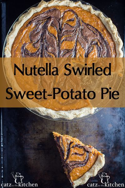 ... pie recipe. Try this fabulous Nutella-swirled sweet-potato pie for
