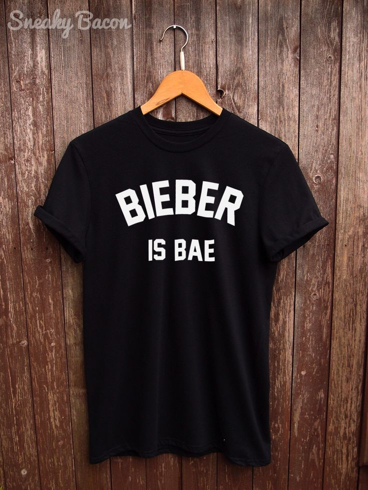Justin Bieber tshirt - bieber shirts, justin bieber t shirt, fangirl tumblr shirt, gifts for her, t-shirt justin bieber, bieber is my bae by SneakyBaconTees on Etsy https://www.etsy.com/listing/258110132/justin-bieber-tshirt-bieber-shirts