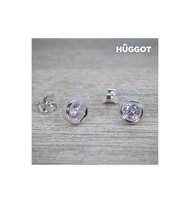 Découvrez Boucles d'oreilles en Argent Massif 925 et Zirconites Angie Hûggot de la nouvelle collection de bijoux fantaisie Hûggot ! Une large gamme de bagues, bracelets, boucles d'oreilles, collier...