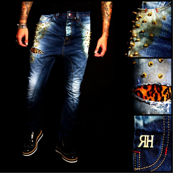 LEOPARD JEANS #RHREDHOUSE #JEANS #FASHION #AW13 #GOLDPEAKS #DENIM #STYLE #COUTURE #LEOPARD