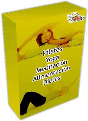VendeShop: Curso de Pilates, yoga, meditación, alimentación y dietas (incluye vídeo-cursos) http://www.vendeshop.com/material/pilates.html