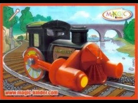 Train Toy Kinder Surprise RETRO 2S 375 Smokey Joe Mountain Express