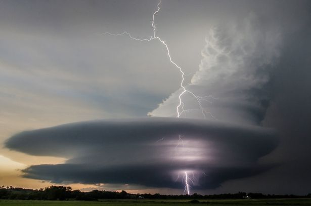 Super Storm: These incredible pictures were taken during a storm in Nebraska Photographer Vanessa Neufeld