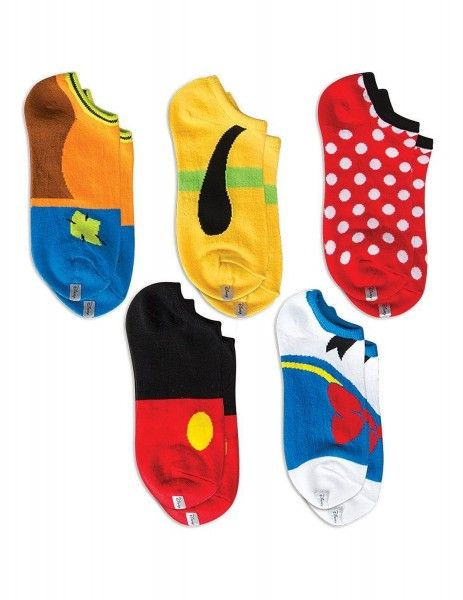 Disney Mickey and Friends Socks Five Pack - omigosh...how cute are these?