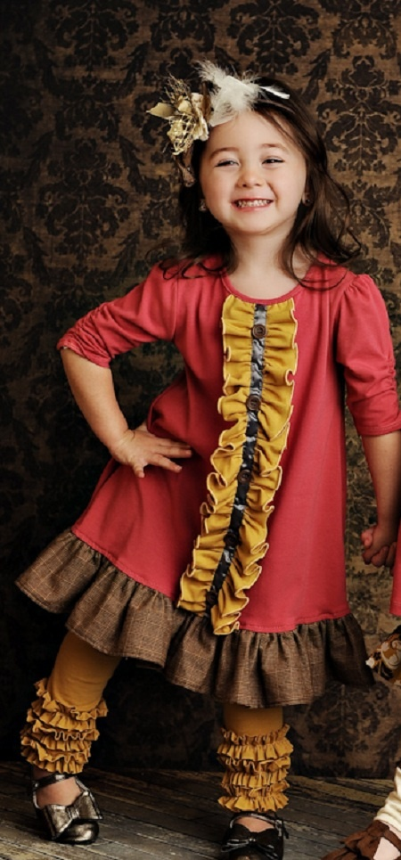 Persnickety Clothing Sylvia Little Girls Dress $60.00...  I could definitely make this!!!