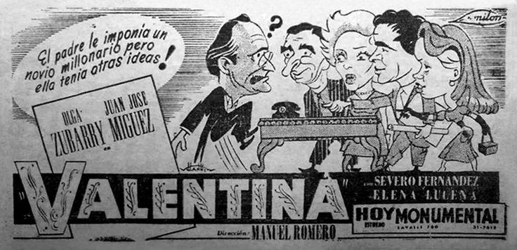 1950 - VALENTINA - Manuel Romero