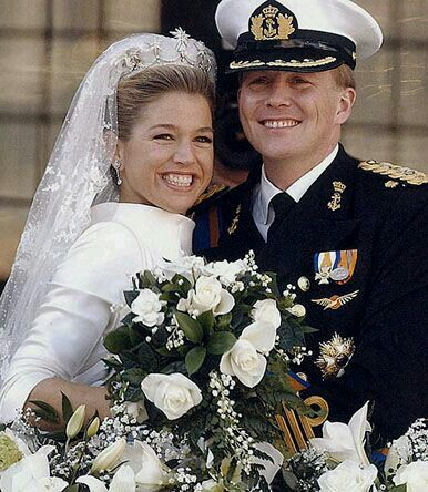 Prince Willem-Alexander and Princess Maxima of Orange.