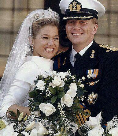 Prince Willem-Alexander and Princess Maxima of Orange.2.2.2002.