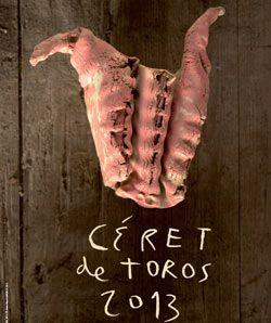 CERET Será expuesto en el Museo de Arte Moderno El cartel de Ceret, obra del artista Miquel Barceló - Mundotoro.com #toros #carteltaurino
