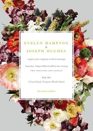 wedding invitations by bhldn
