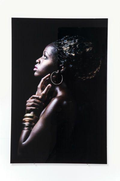 Πίνακας Glass African Queen Profile