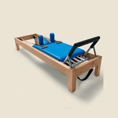 Designer Reformer (Maple wood) from Gratz.  The best Pilates equipment out there!
