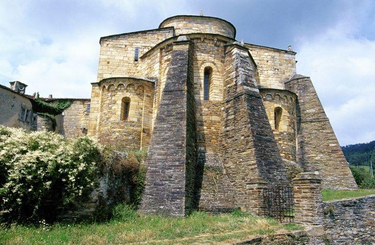 La basílica de San Martiño de Mondoñedo. Foz (Lugo). Galicia. Spain.