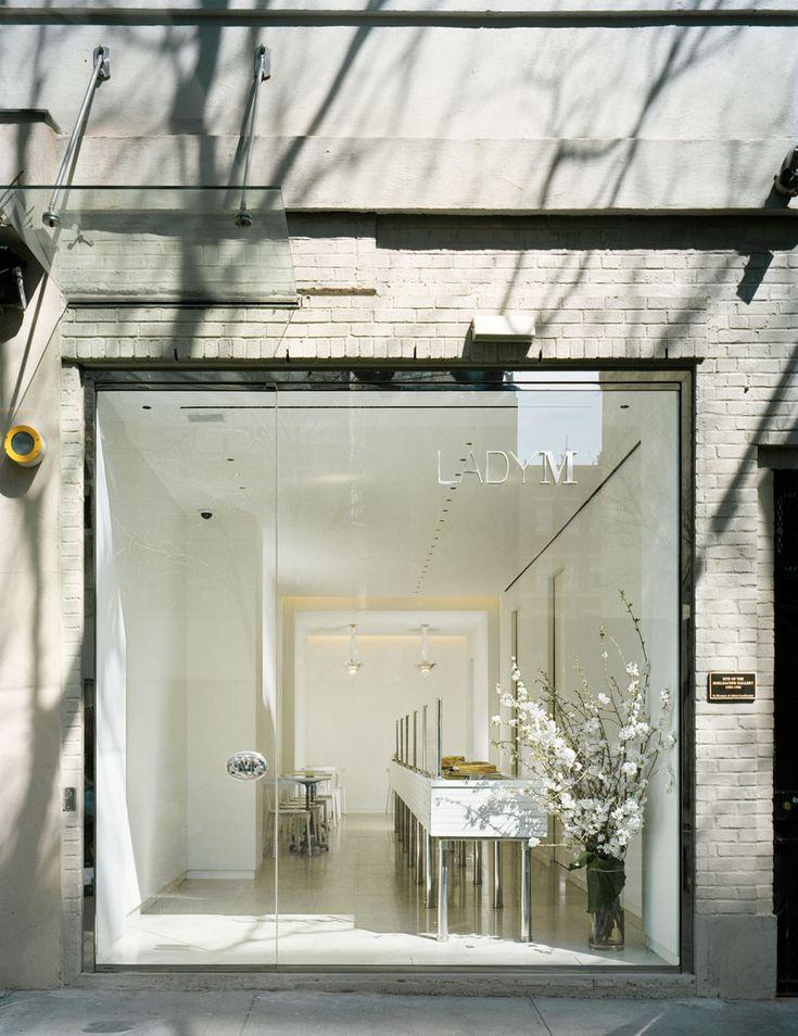 Lady M Cake Boutique by Sam Trimble Architects,NY