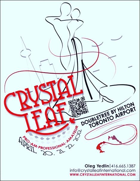 Crystal Leaf Dancesport Championships April 20-22, 2012