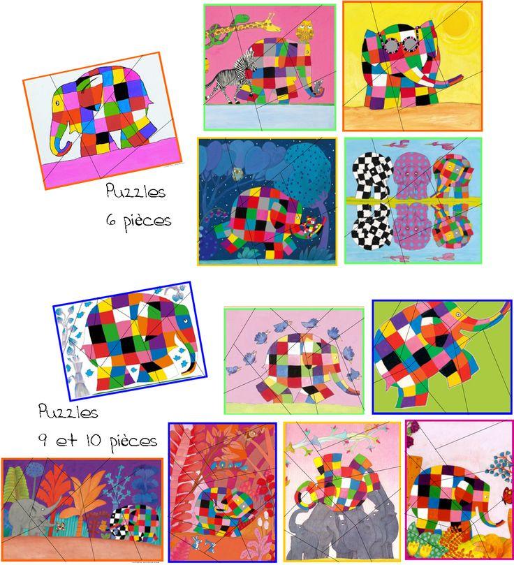 Puzzles Elmer                                                                                                                                                     Plus
