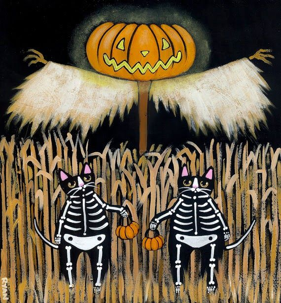 Pinzellades al món: Carabasses: preparant Halloween / Calabazas: preparando Halloween / Pumpkins: Halloween preparing. Il•lustració de Ryan Conners.