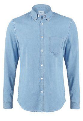 Selected Homme SHHONENOLAN SLIM FIT - Casual overhemd - light blue denim - Zalando.nl