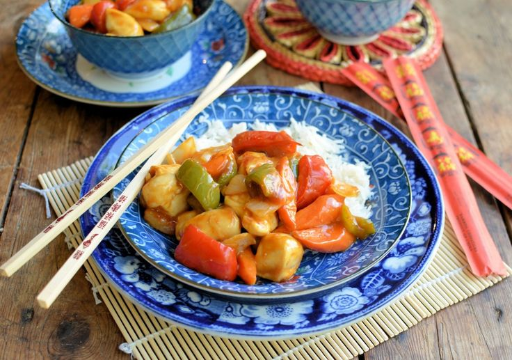 A quick and easy recipe for Sweet and Sour Chicken which is made in an ActiFry in under 30 minutes. A Healthy Takeaway dish for Fridays!