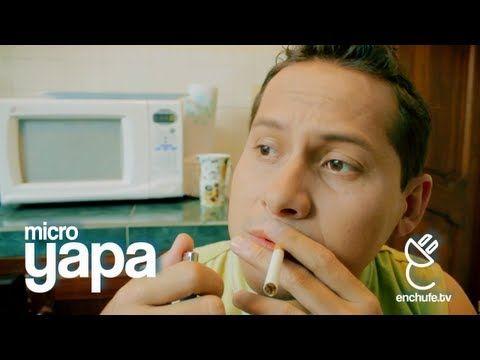 microYAPA: ¡Ñaño no fumes! - VER VÍDEO -> http://quehubocolombia.com/microyapa-nano-no-fumes    ¡twittea!  ¡likea!  Fumar Mata Un video nuevo cada semana. © enchufe.tv – Todos los derechos reservados por Touché Films 2012. La APP que te quitara la virginidad iOS Android  Créditos de vídeo a enchufetv YouTube channel