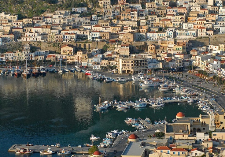 Kalymnos, an island of the Dodekanese, Greece