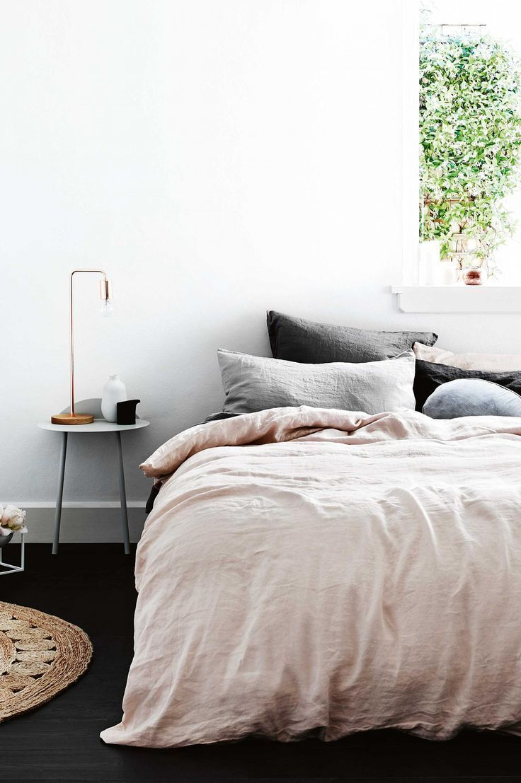 10 Great Finds: Beautiful Linen #bedding | Apartment Therapy