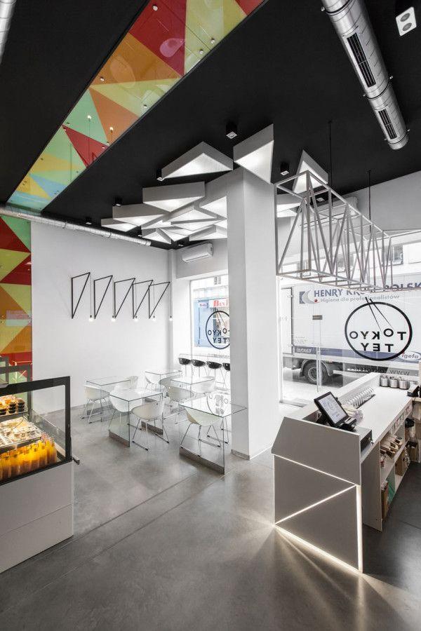 Tokyo Tey designed by Mode:lina architekci